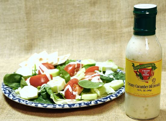 Picture of Creamy Cucumber Dill Dressing