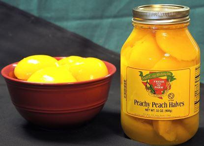 Picture of Peachy Peach Halves