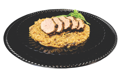 Picture of Mushroom Risotto & Pork Tenderloin