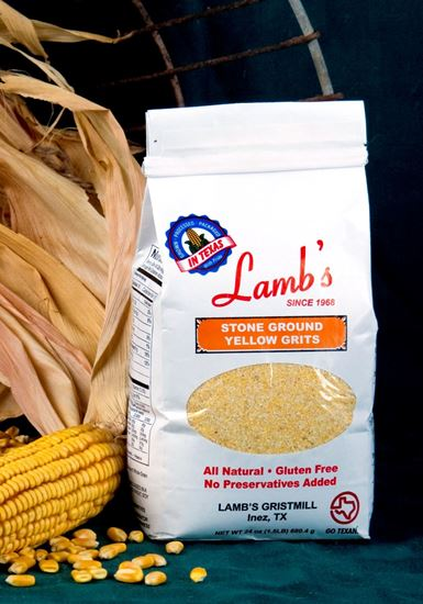 Picture of Stone Ground Yellow Grits Gluten Free