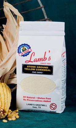 Picture of Stone Ground Yellow Cornmeal Fine Gluten Free