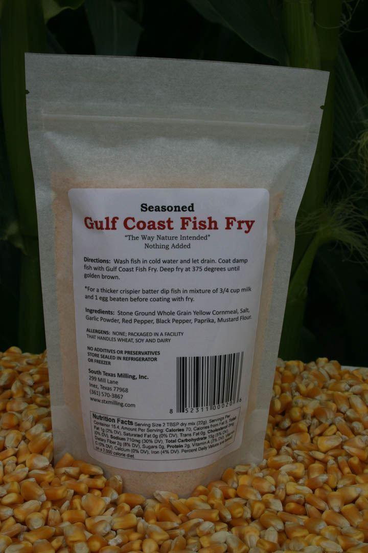 Gulf coast fish fry seasoned 12oz south texas milling for Gulf coast fish
